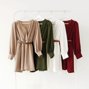 Harga ready terusan jasmine dress midi dress   | HARGALOKA.COM