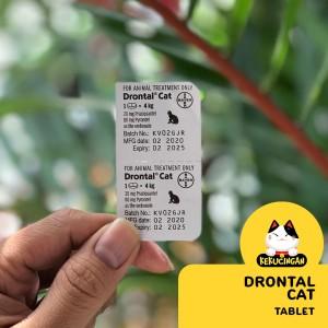 Harga Drontal Cat Obat Cacing Kucing Harga Satu Tablet Katalog.or.id