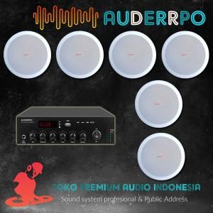 Harga harga paket sound system ceiling speaker cc8 untuk restoran   HARGALOKA.COM