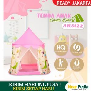 Harga tenda anak castle tenda indoor anak import   merah | HARGALOKA.COM