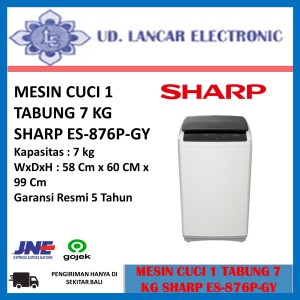 Harga mesin cuci sharp 1 tabung 7 kg   HARGALOKA.COM
