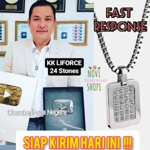 Harga kk liforce 24 stone kalung kesehatan made in usa original kk | HARGALOKA.COM