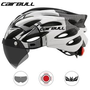Harga helm sepeda cairbull powermeter mtb breathable cycling helmet   cb26   white | HARGALOKA.COM
