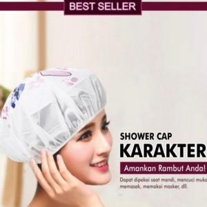 Harga Shower Cap Cup Tutup Mandi Karakter Katalog.or.id