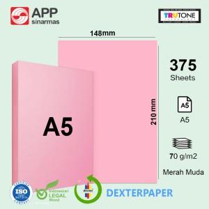 Harga kertas hvs a5 70 gram warna kertas a5 warna sidu colour 70gr print   tambah pack | HARGALOKA.COM