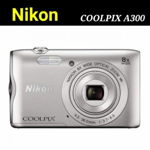 Harga kamera digital nikon coolpix a300 camera pocket free memory 16gb   | HARGALOKA.COM