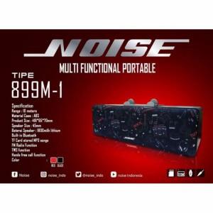Harga speaker spiker bluetooth usb noise 899 m1     HARGALOKA.COM