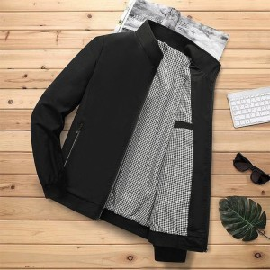 Harga jaket ori jaket pria   hitam | HARGALOKA.COM
