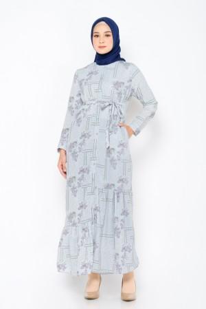 Harga zm zaskia mecca   ezalea grey dress   jelita indonesia   kelimutu   | HARGALOKA.COM