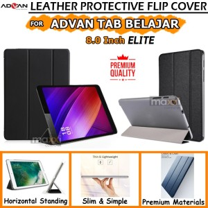 Harga advan tab 8 inch tablet belajar elite bookcover flipcover case kesing   | HARGALOKA.COM