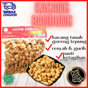 Harga kacang tanah goreng tepung makanan cemilan tradisional khas   HARGALOKA.COM