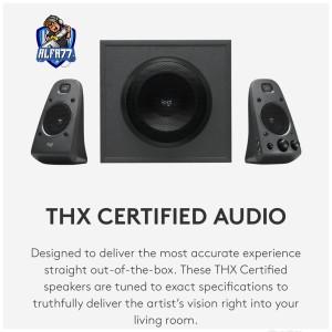 Harga logitech z625 speaker system subwoofer powerful thx | HARGALOKA.COM