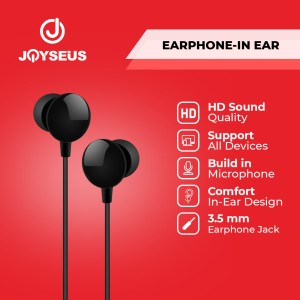 Harga earphone joyseus in ear hifi stereo wired hd sound ep0027 28 29   | HARGALOKA.COM