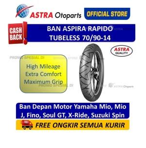 Harga aspira maxio rapido 70 90 14 untuk motor scootic 15 70 9014 rapido | HARGALOKA.COM