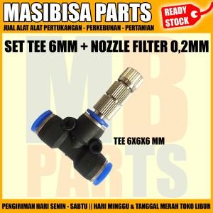 Harga Misting Mist Nozzle 0 2 Mm Anti Drip Filter Type Slip Lock Katalog.or.id