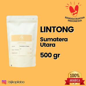 Harga kopi arabika lintong sumatera utara 500 gram biji dan bubuk   | HARGALOKA.COM