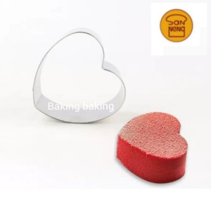 Harga sanneng heart ring cetakan ring cake roti mini love sanneng 6 | HARGALOKA.COM