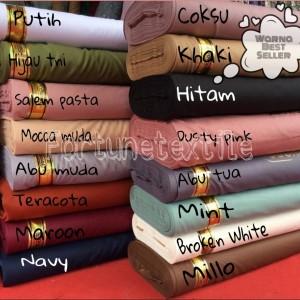 Harga kain toyobo original bahan segala seragam bahan gamis harga per 0 | HARGALOKA.COM
