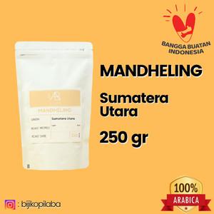 Harga kopi arabika mandheling sumatera utara 250 gram biji dan bubuk   | HARGALOKA.COM