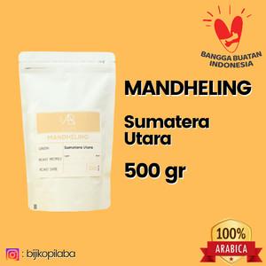 Harga kopi arabika mandheling sumatera utara 500 gram biji dan bubuk   | HARGALOKA.COM