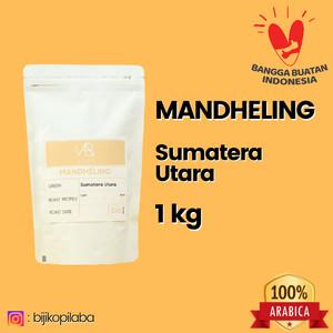 Harga kopi arabika mandheling sumatera utara 1 kilogram biji dan bubuk   | HARGALOKA.COM