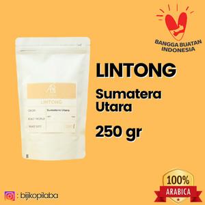 Harga kopi arabika lintong sumatera utara 250 gram biji dan bubuk   | HARGALOKA.COM