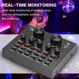 Harga sound card v8 mixer bluetooth soundcard v8 audio   HARGALOKA.COM