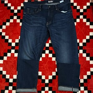 Harga jeans selvedge 34 uniqlo 34 slim fit | HARGALOKA.COM