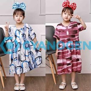 Harga piyama anak baju tidur panjang 1 7 tahun perempuan daster cewek katun   contoh motif s 1 3 tahun | HARGALOKA.COM