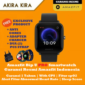 Harga amazfit bip u pro smartwatch sport with gps smart watch   | HARGALOKA.COM