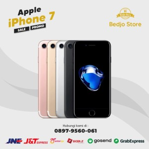Harga apple iphone 7 128gb seken mulus fullset oem bergaransi   128 | HARGALOKA.COM