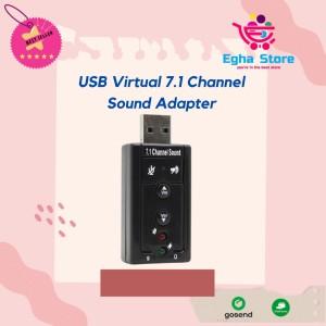 Harga 7 1 channel usb external sound card audio   HARGALOKA.COM