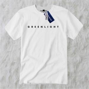 Harga men 39 s t shirt greenlight black   putih   HARGALOKA.COM