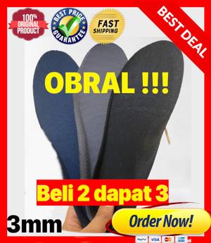 Harga insole sepatu 3mm obral alas sepatu sol sepatu dalam termurah   beli   HARGALOKA.COM