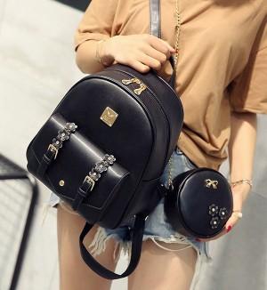 Harga tas backpack 8mj gannise impor ready stock terbaru model korea   | HARGALOKA.COM