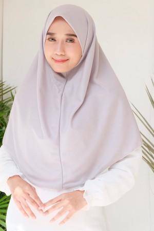 Harga hijab instant bergo kaos najwa polos non pet m l xl   | HARGALOKA.COM