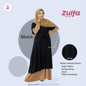 Harga zulfa outer outer panjang by gimi hijab   | HARGALOKA.COM