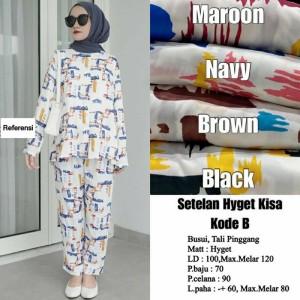 Harga oneset pajamas wanita hyget premium   | HARGALOKA.COM
