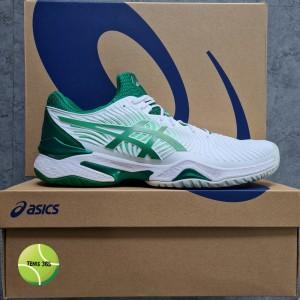 Harga sepatu tenis asics court ff 2 novak white kale   | HARGALOKA.COM