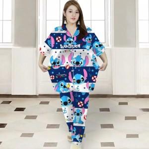 Harga ap baju tidur piyama cp jumbo   stitch   HARGALOKA.COM