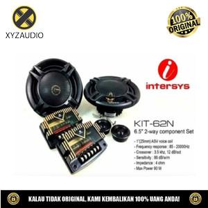 Harga speaker audio mobil intersys kit 62n split 2 way speaker 6 5 inch | HARGALOKA.COM