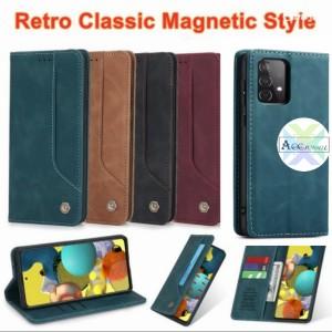 Harga samsung galaxy a32 4g flip wallet leather cover case sarung dompet hp   maroon a32   HARGALOKA.COM