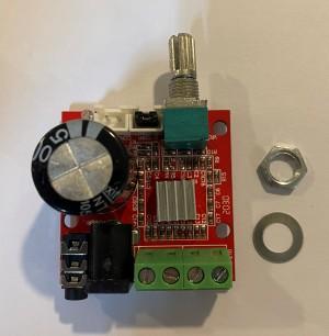 Harga power amplifier kit pam8610 class d board stereo   HARGALOKA.COM