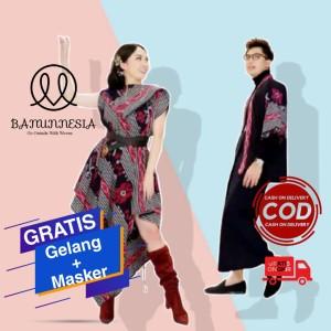 Harga baju set couple tenun wanita etnik troso jepara baju tenun couple 5   kimono pria | HARGALOKA.COM