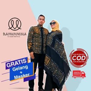 Harga baju set couple tenun wanita etnik troso jepara baju tenun couple 3   dress wanita | HARGALOKA.COM