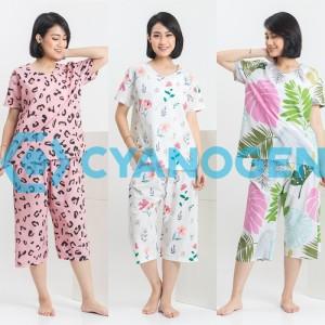 Harga celana pendek baju tidur wanita setelan piyama wanita dewasa katun   contoh | HARGALOKA.COM