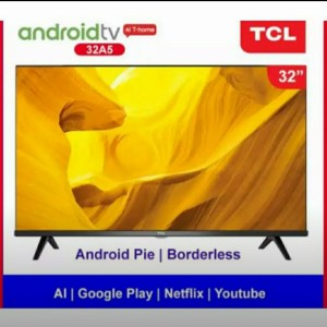 Harga tcl tv led 32a5 android tv full screen new | HARGALOKA.COM