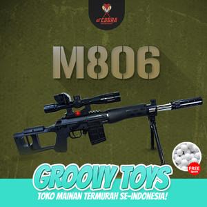 Harga mainan tembakan sniper modern version   dcobra m806 | HARGALOKA.COM