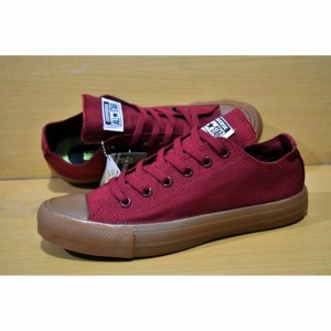 Harga sepatu converse sol gum   maroon | HARGALOKA.COM