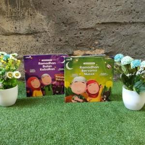 Harga buku ramadhan bulan kebaikan nussa rarra promo | HARGALOKA.COM